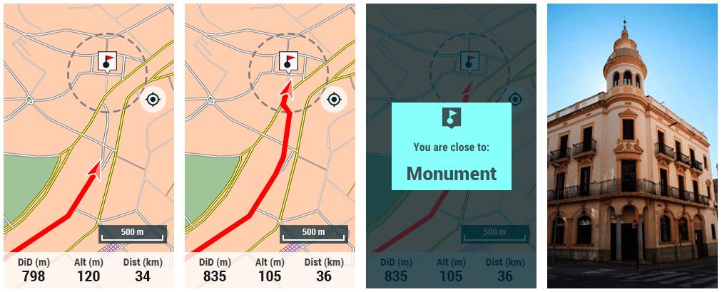 TwoNav GPS: Change in how the alarms work