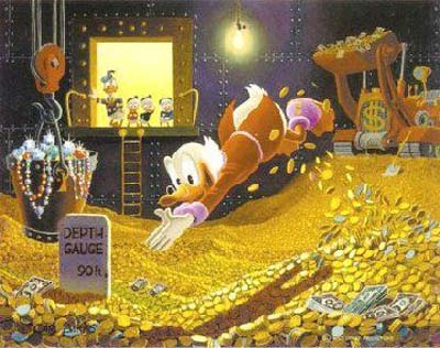 Scrooge McDuck on the Fiscal Cliff