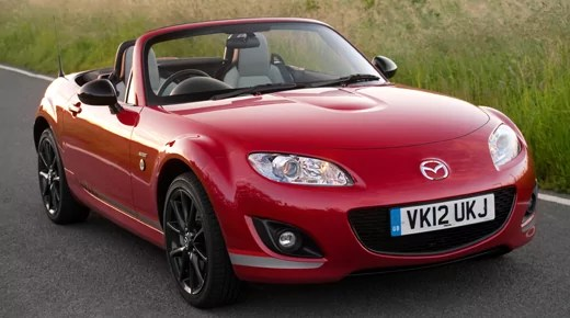 Mazda MX5 Special Edition Kuro in Red