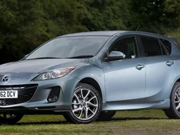 Mazda 3 Venture Edition in grey