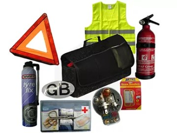 Driving abroad safety kit (c) Newspress