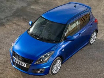 Suzuki Swift Sport five-door (c) Suzuki