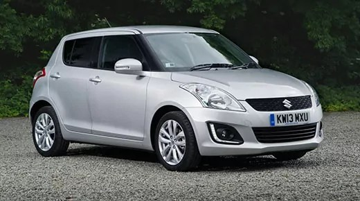 Suzuki Swift supermini facelift (c) Suzuki