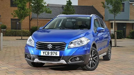 The New Suzuki SX4 S-Cross