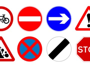 British road signs