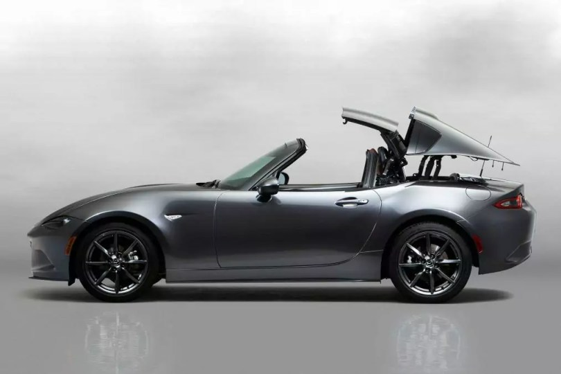 Mazda MX-5 RF side open