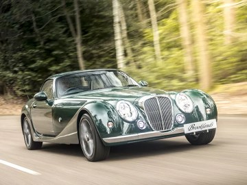 Mitsuoka Brooklands Roadster in British Racing Green
