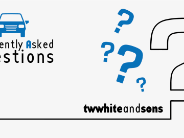 T W White & Sons Frequestly Asked Questions FAQ's Graphic