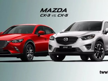 Mazda cx3 vs cx5 car review