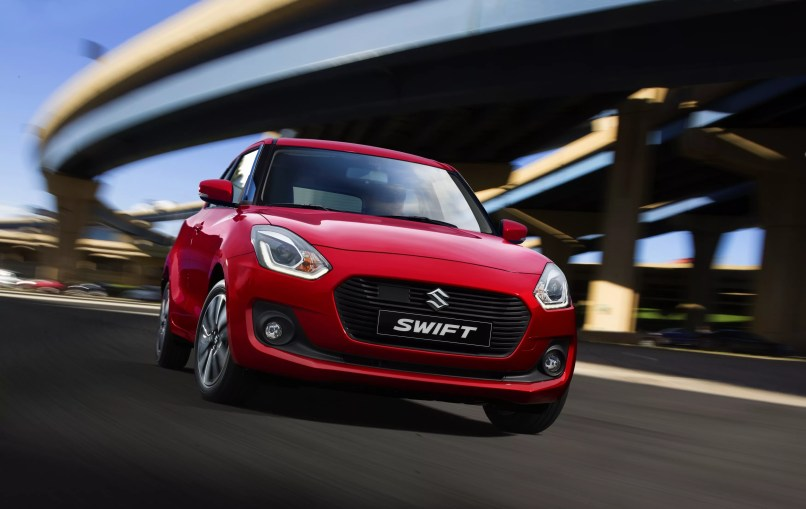 Suzuki swift front