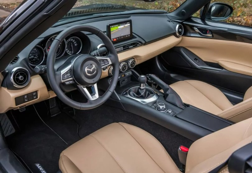 MX-5 Z-Sport interior dash