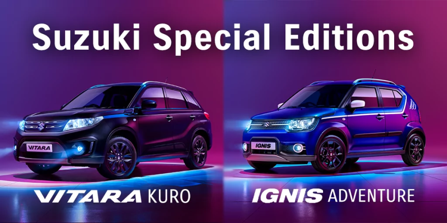 Suzuki Vitara Kuro and Ignis Adventure Special Edition Cover Photo