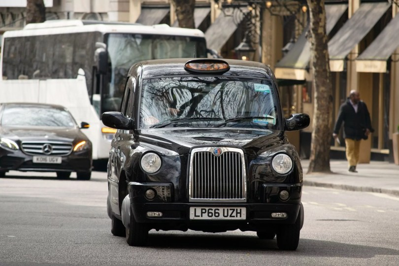 London black cab exempt from ULEZ