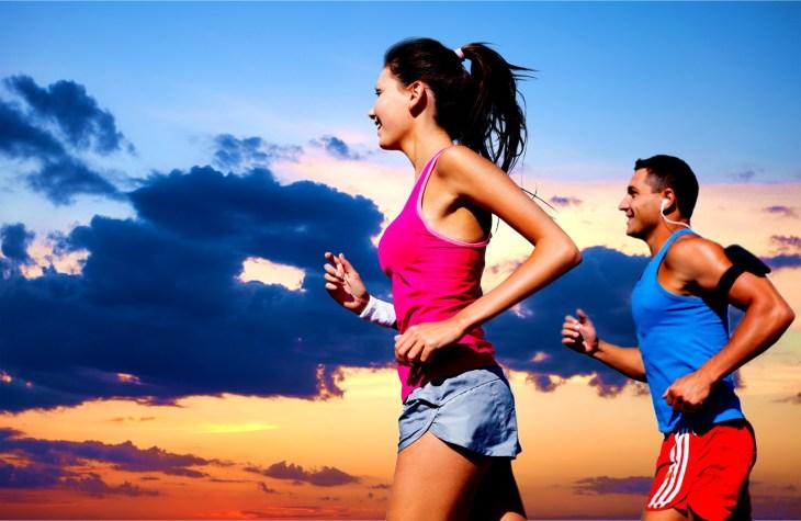 Running, outdoor, fit.