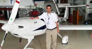 Faisal and plane