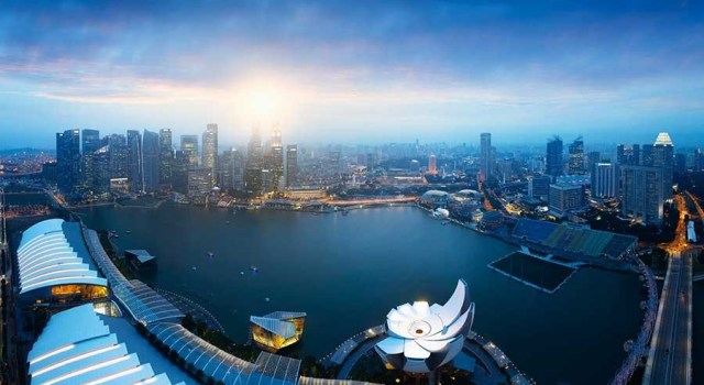 Singapore air view