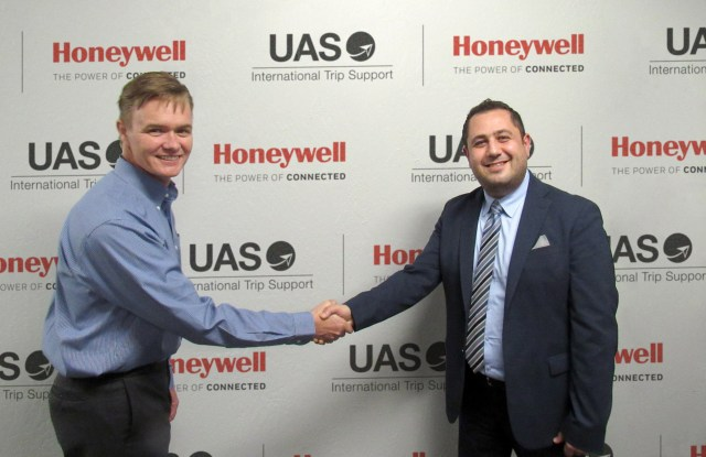 UAS and Honeywell Strike Alliance on Communications and Trip Support