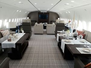 Inside Dream Jet