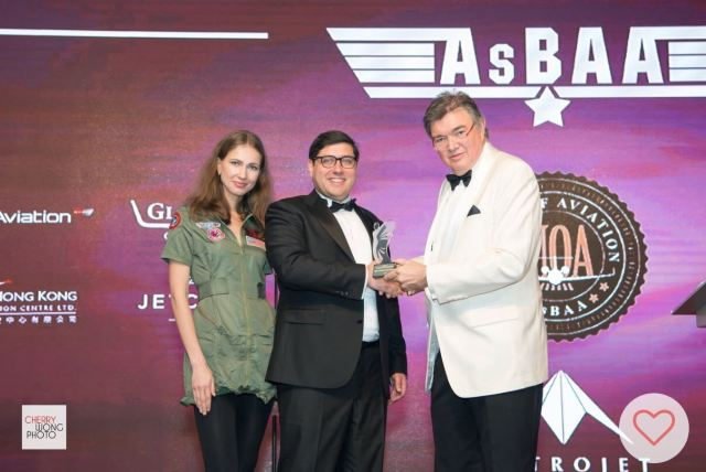 UAS Wins 'Best Operational Support 2017' at AsBAA Awards