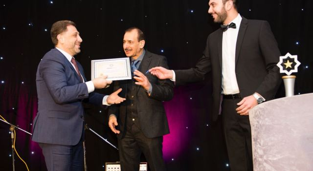 UAS CEO Receives Leadership Award and is Named in the Best 100 Arab CEOs