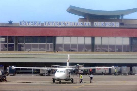 New Terminal at Kotoka Airport Ghana