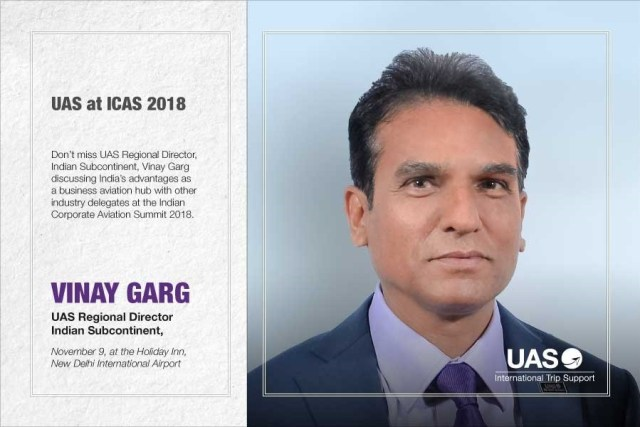 UAS to feature at ICAS2018 in New Delhi