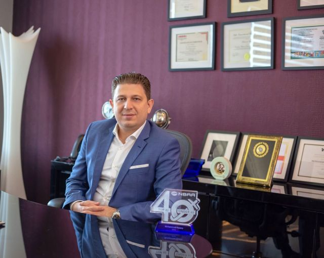 UAS' Mohammed Husary Awarded NBAA Top 40 Under 40 Honors
