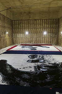 Koji Kakinuma - Shooting Large Scale Calligraphy - Uchujin ...