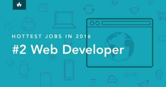 Hottest Jobs in 2016 #2: Web Developer