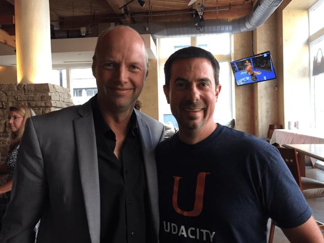 Aaron McLearn Sebastian Thrun AT&T Udacity