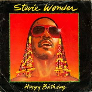 Stevie Wonder Happy Birthday