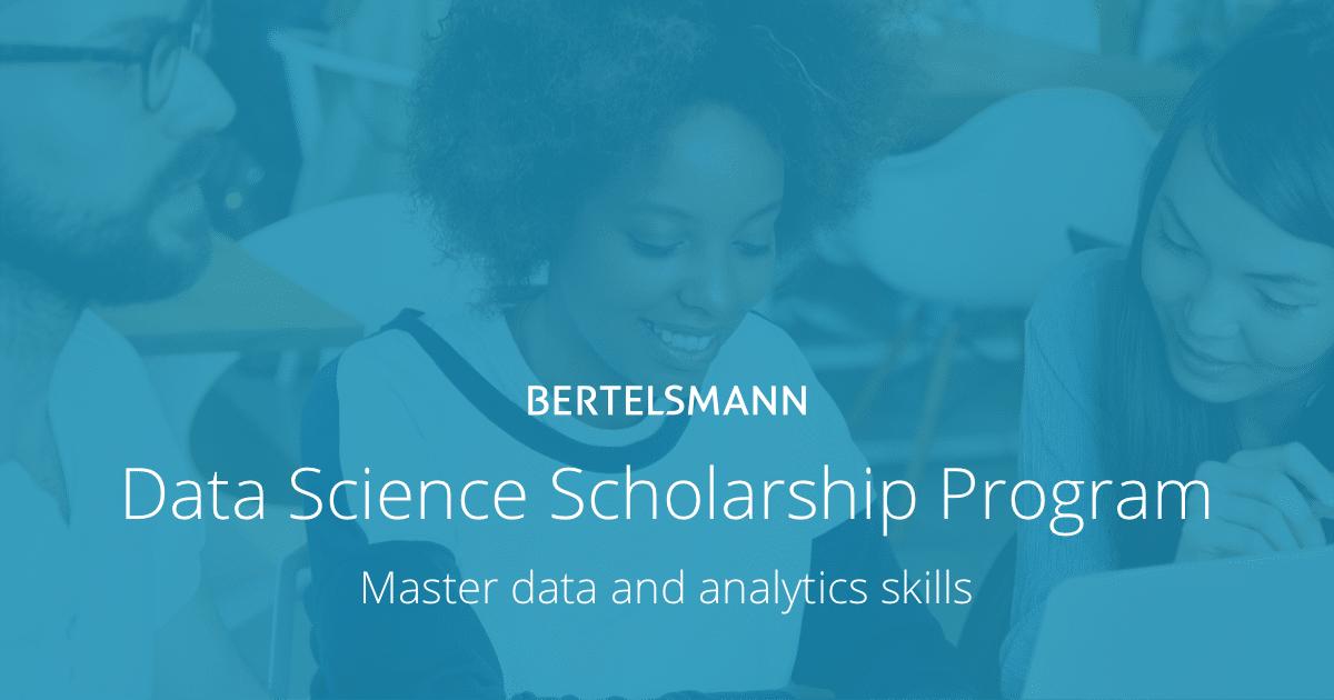 Bertelsmann Announces 15,000 Data Science Scholarships | Udacity