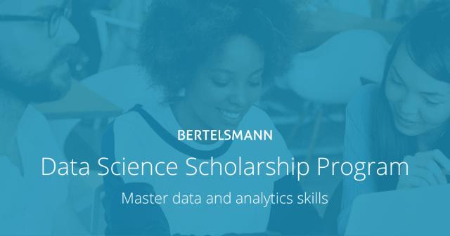 bertelsmann - udacity - data science scholarships