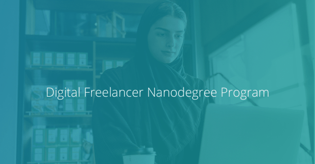 Udacity Digital Freelancer Nanodegree program - MENA