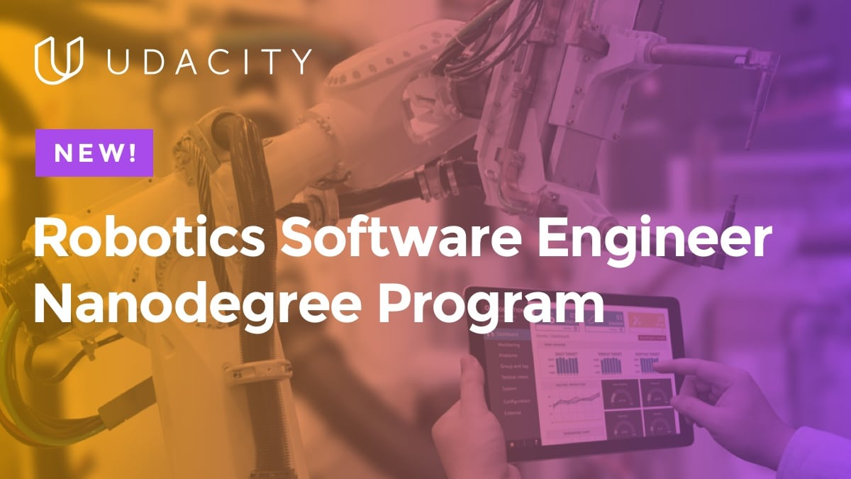 Udacity Robotics Software Nanodegree Program Content Update