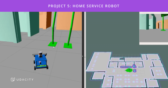 Udacity Robotics Nanodegree Program Project 5