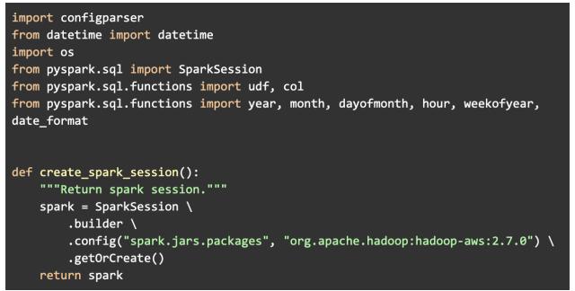 data modeling sample of code for data engineer