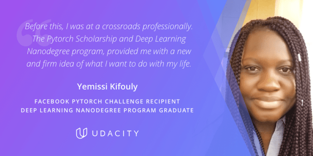 Yemissi Udacity Graduate Deep Learning Engineer Facebook Scholar