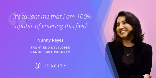 Nunny Reyes Front End Developer Nanodegree program