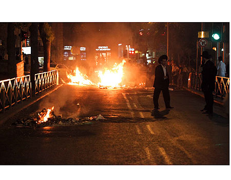 """נזקי מחאת החרדים בי-ם – מיליון ש'; 'יועמדו לדין"""""""