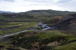 grüne Landschaft an der F232
