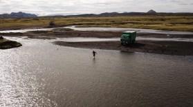 größere Wasserdurchfahrt prüfen