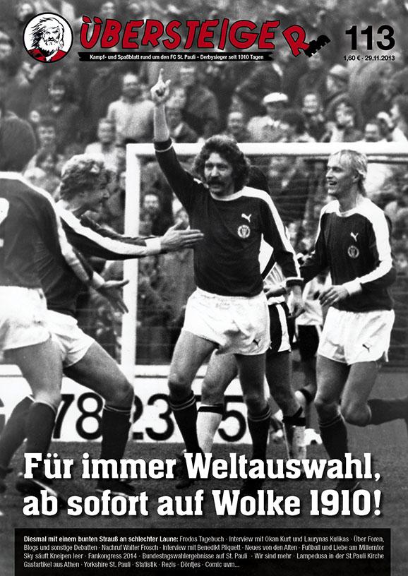 Übersteiger #113 - Cover mit Walter Frosch