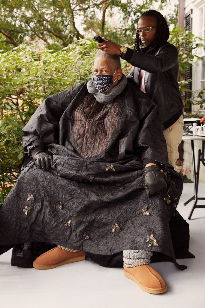 Andre Leon Talley scores a shoe deal with Ugg.