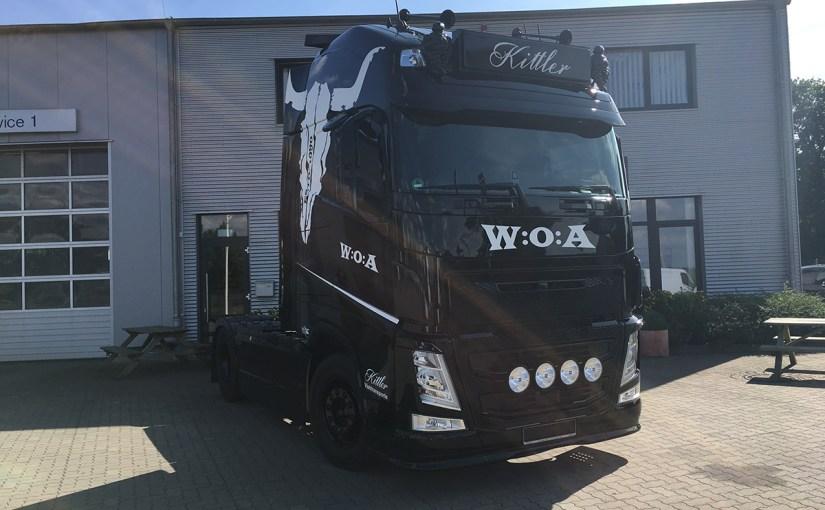 Neufahrzeugauslieferung Kittler, Volvo FH W:O:A