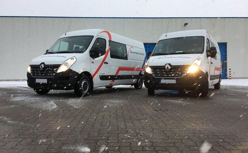 Neufahrzeuge Bahnbau Nord, Renault Master