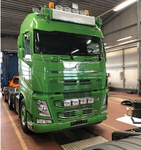 Neufahrzeug Baggerbetrieb Jacobsen, Volvo FH