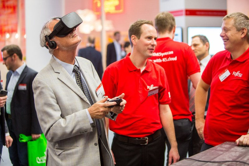 Virtual reality at Fujitsu Forum 2016