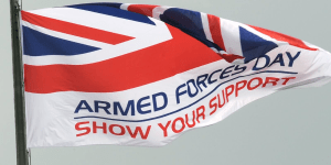 Armed Forces Week flag photo