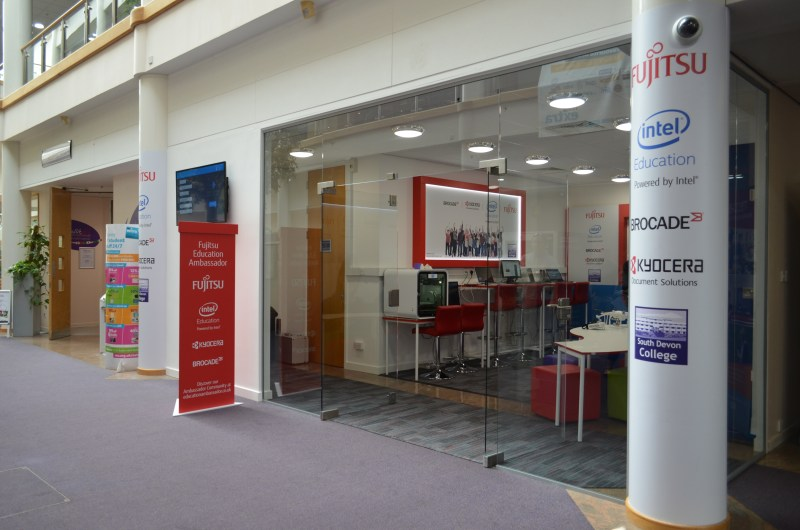 Fujitsu Hub South Devon College